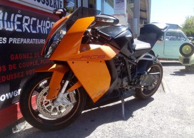 moto carrosserie peinture