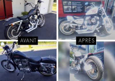 moto fast carrosserie peinture annecy