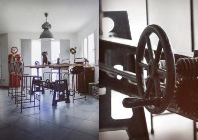 rénovation meuble industriel annecy